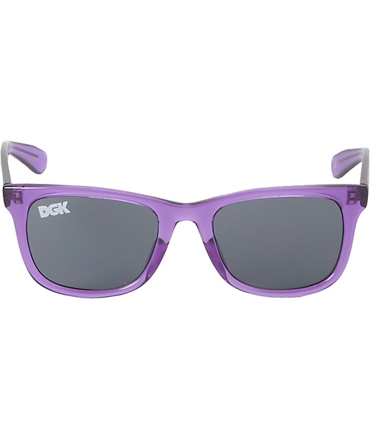 DGK Clear Purple Shades