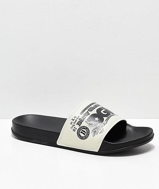 a5644e82315a DGK Currency Black Slide Sandals