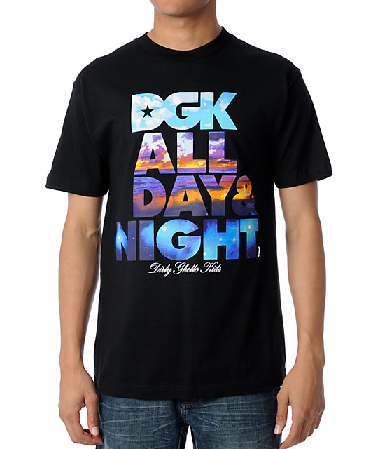 DGK Day & Night Black T-Shirt