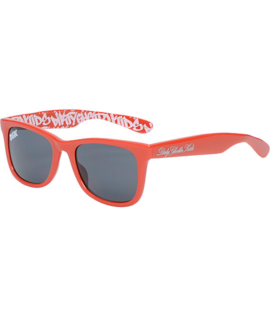 DGK Graffiti Red Shades
