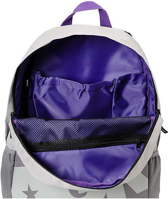 DGK Grey & Purple Angle Laptop Backpack