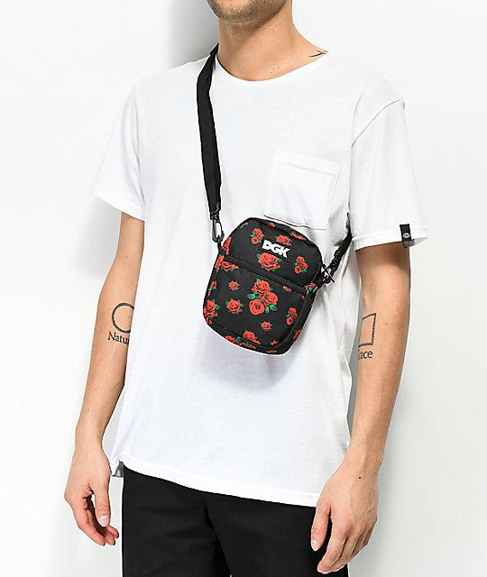 Dgk Growth Black Shoulder Bag