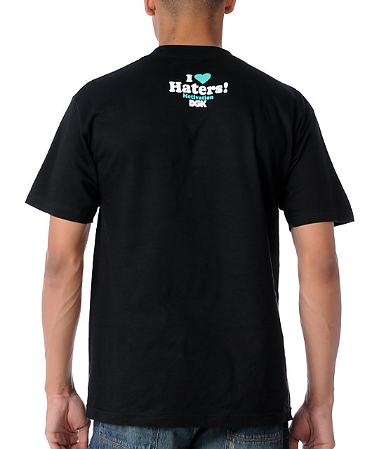 DGK Haters Collage Green & Black T-Shirt