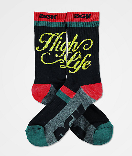 DGK High Life calcetines negros