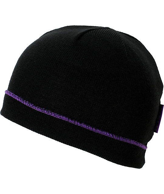 DGK Hollywood Black Beanie