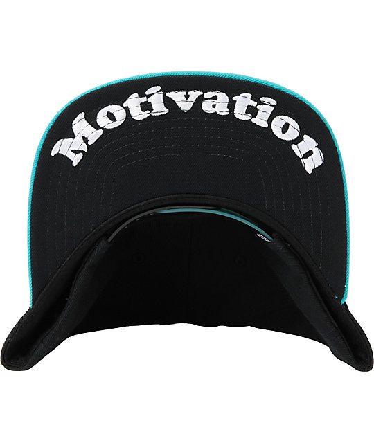 DGK I Love Haters Black & Turquoise Snapback Hat
