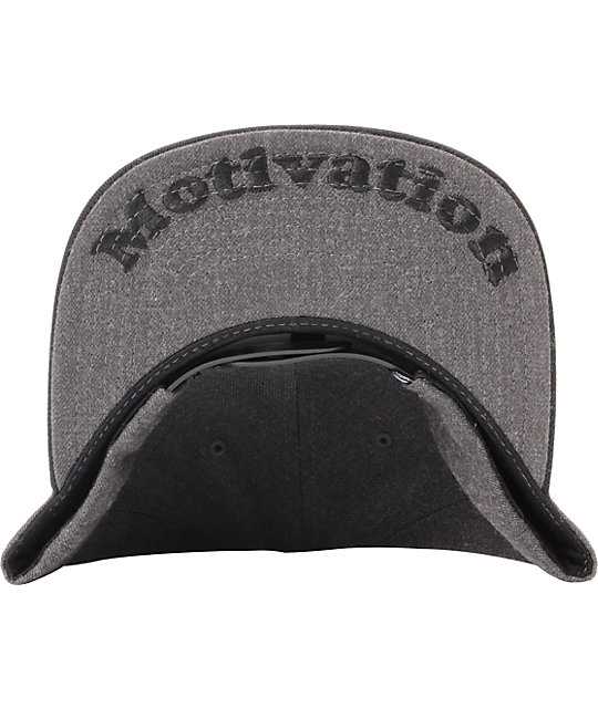 DGK I Love Haters Charcoal & Black Snapback Hat