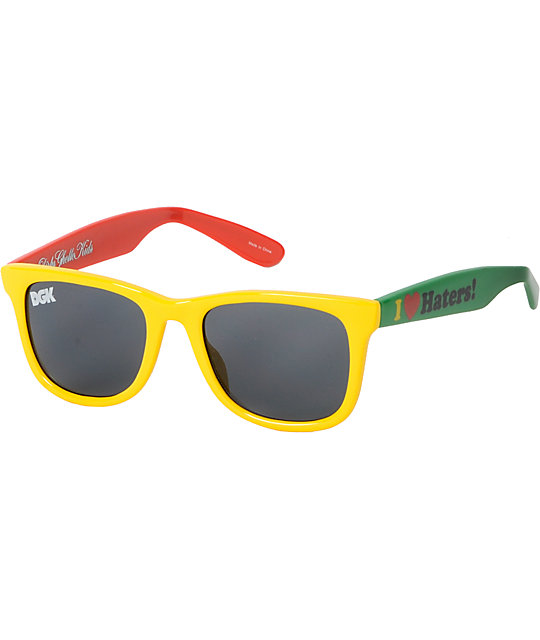 DGK I Love Haters Rasta Shades