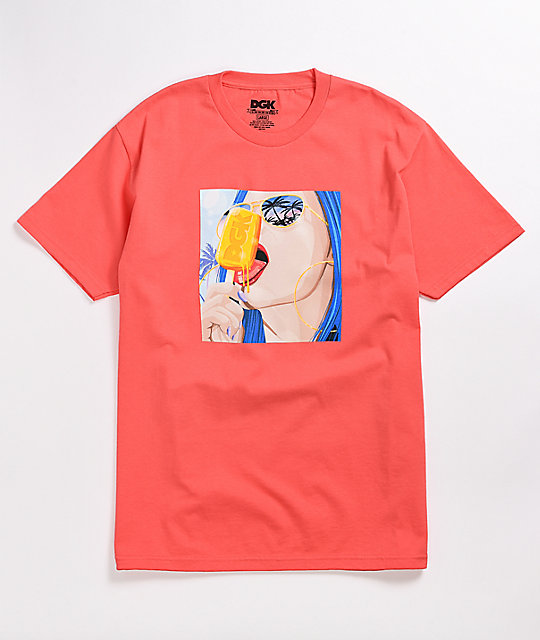 DGK Ice Cold Coral T-Shirt
