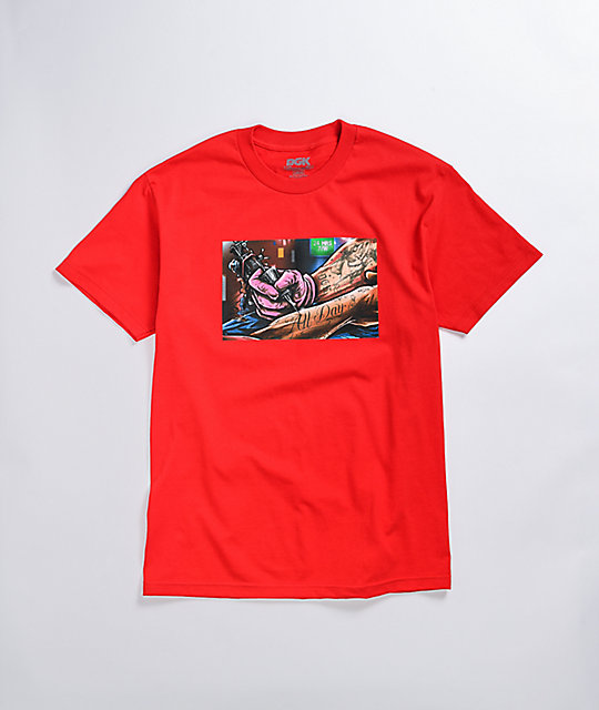 DGK Inked Red T-Shirt