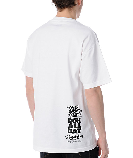 DGK Instagram White T-Shirt