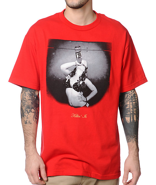 DGK Killn It Red T-Shirt