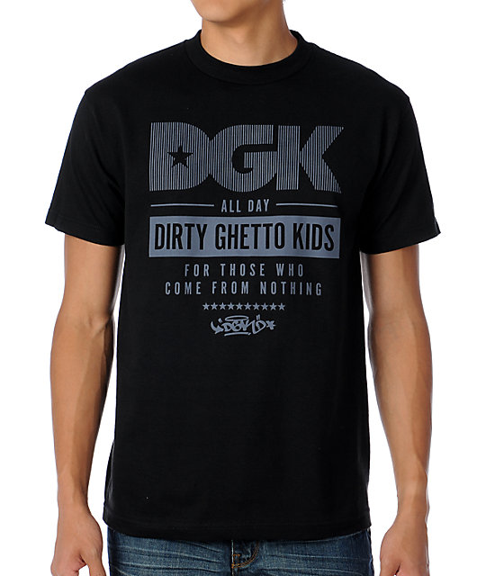 DGK Labeled Black T-Shirt