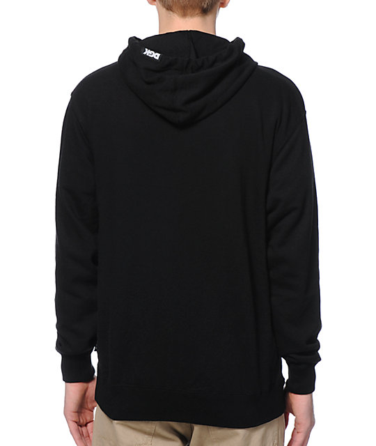 DGK Making Something Black Pullover Hoodie