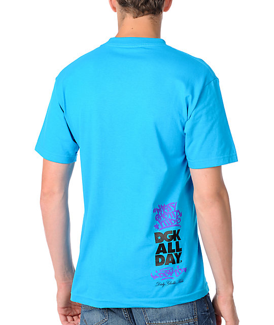 DGK No Graffiti Turquoise T-Shirt