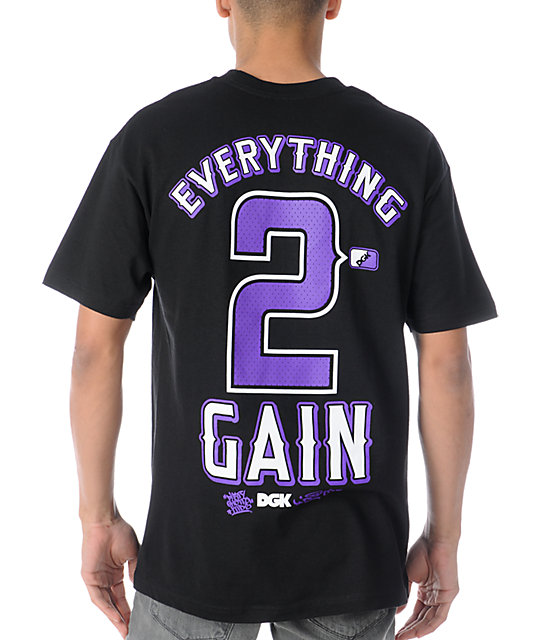 DGK Nothing 2 Lose Black T-Shirt