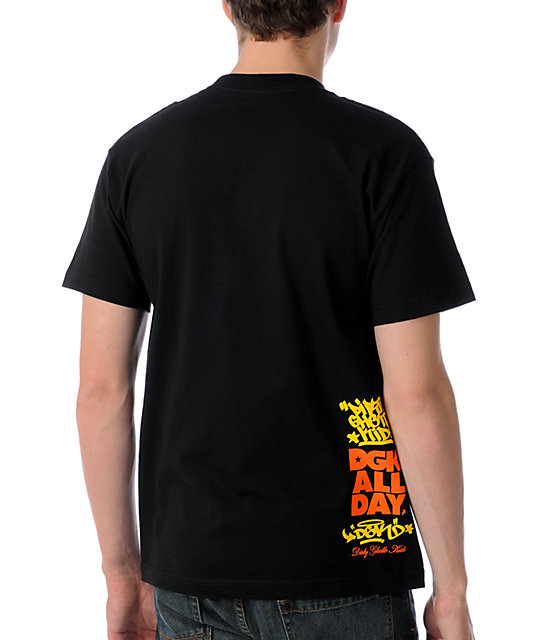 DGK Poppin Black T-Shirt