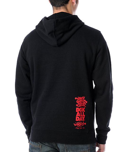 DGK Property of DGK Pullover Black Hoodie