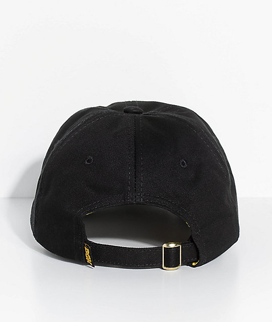 DGK Ring Black Strapback Hat