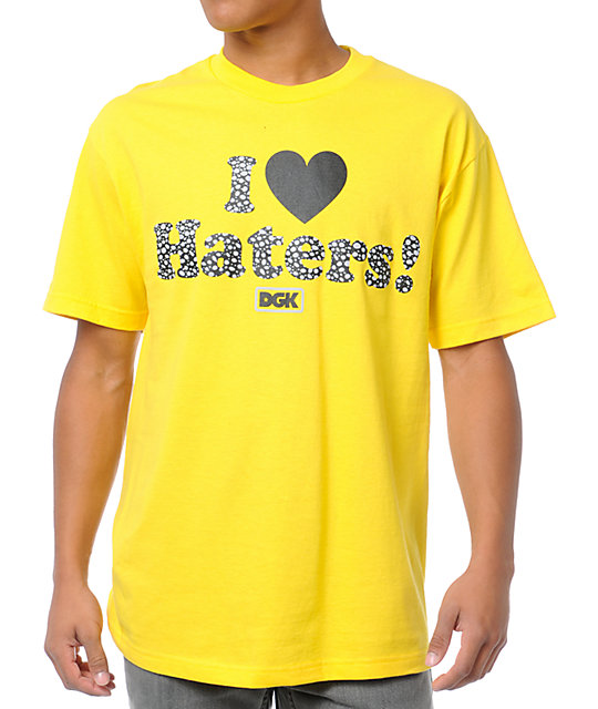 DGK Safari Haters Yellow T-Shirt