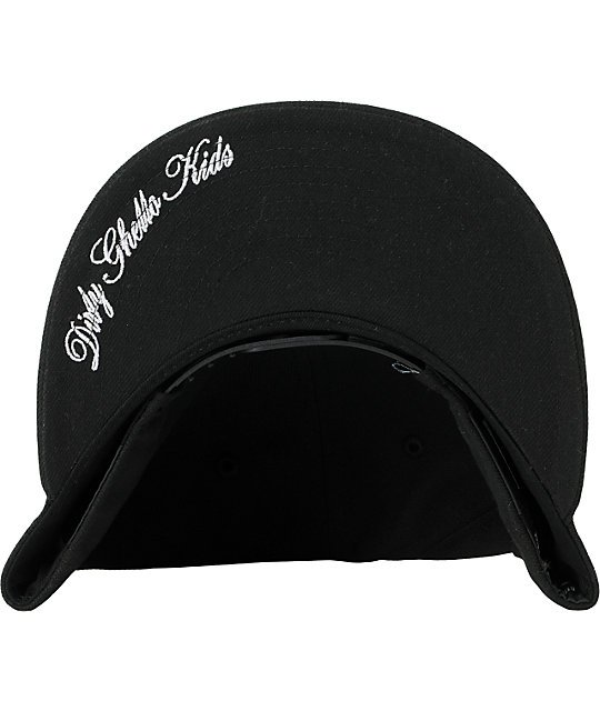 DGK Self Made Black New Era Snapback Hat