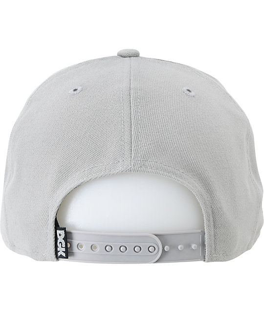 DGK Self Made Grey New Era Snapback Hat