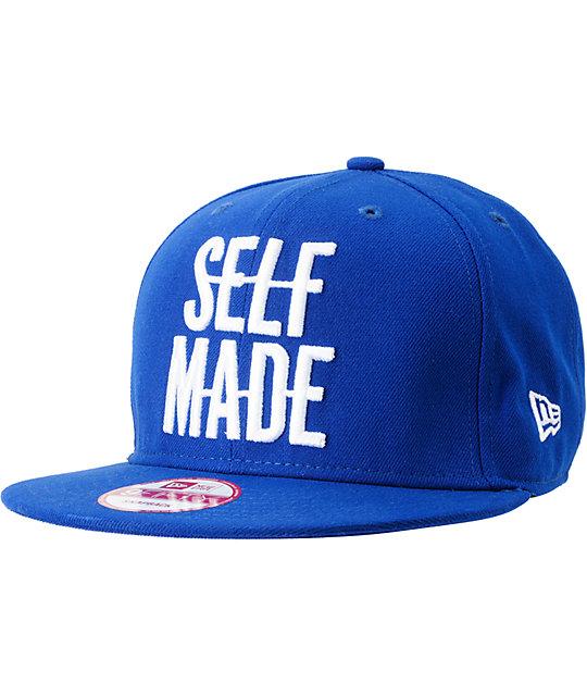 DGK Self Made Royal Blue New Era Snapback Hat  b84b5f83264