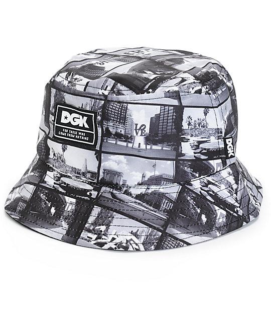 DGK Skate Spot Reversible Bucket Hat  345bffc7ad2