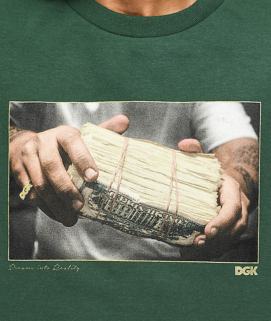 DGK Stack Green T-Shirt