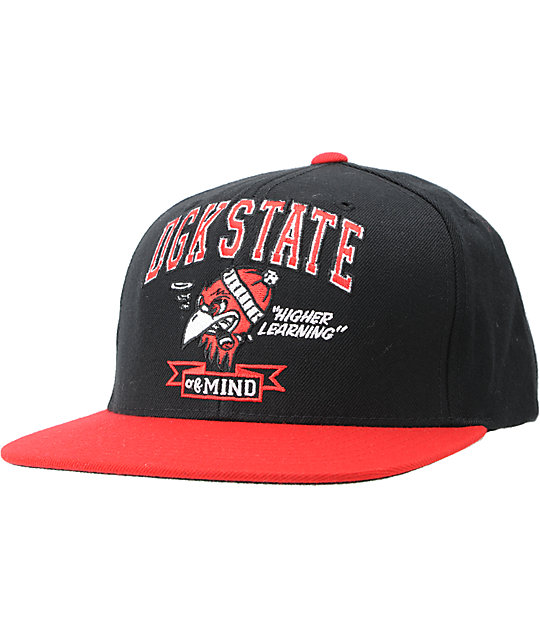 DGK State Of Mind Black Snapback Hat