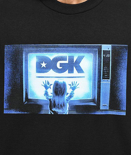 DGK Static camiseta negra  DGK Static camiseta negra aff07b748367a