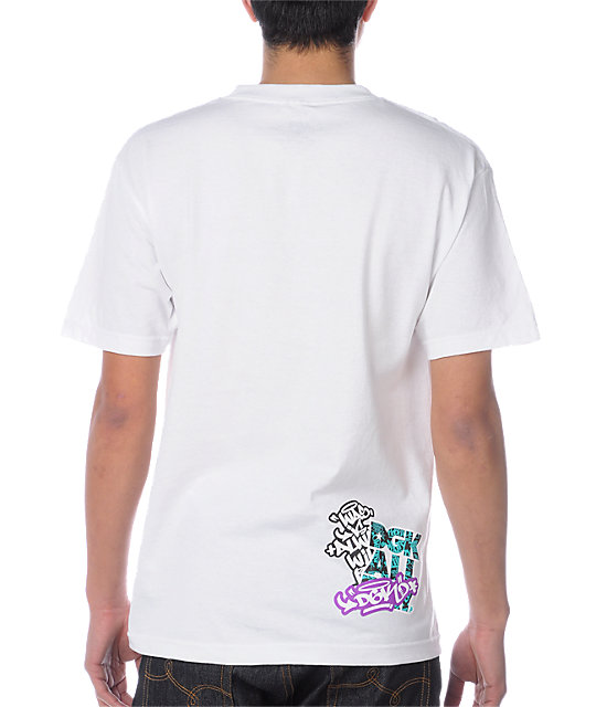 DGK Sticker Pack White T-Shirt