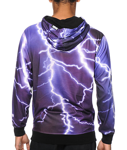 DGK Storm Lightning Hooded Shirt