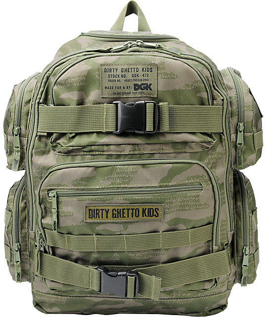 DGK Tactical Army Skate Backpack