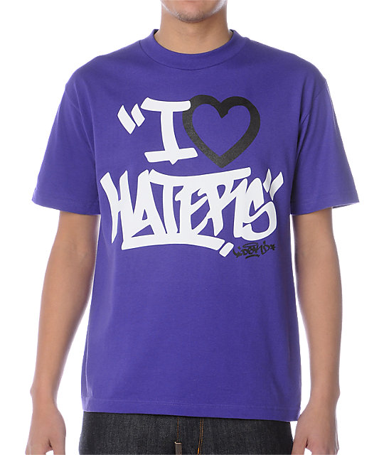 DGK Tag Motivation Purple T-Shirt