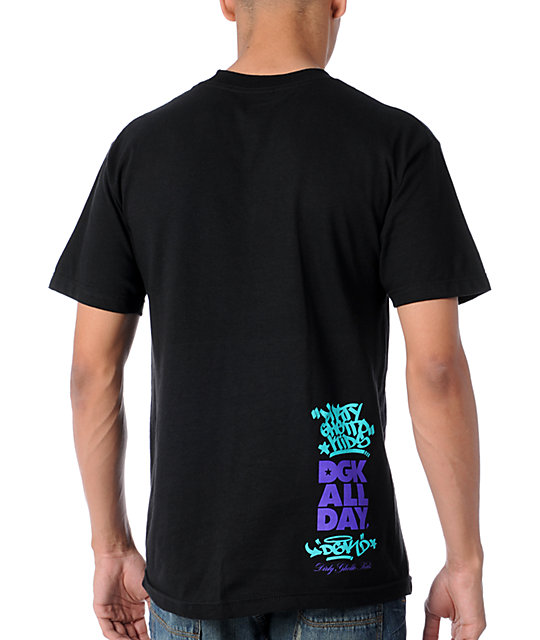 DGK Vanessa Veasley All Day Black T-Shirt