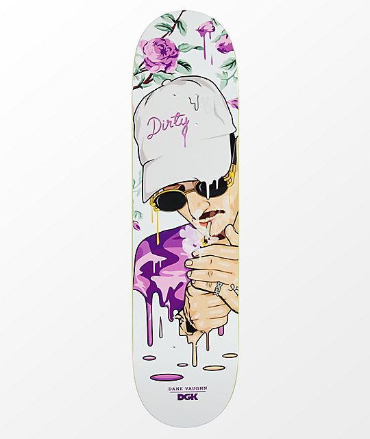 "DGK Vaughn Murked 7.8"" tabla de skate"