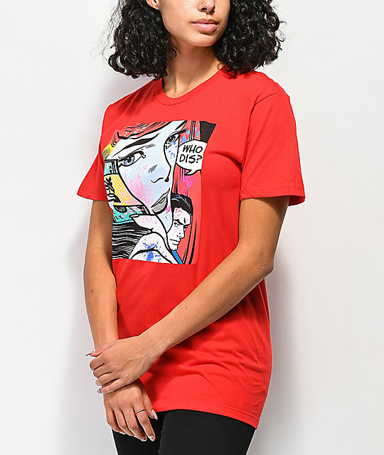 DGK Who Dis Red T-Shirt