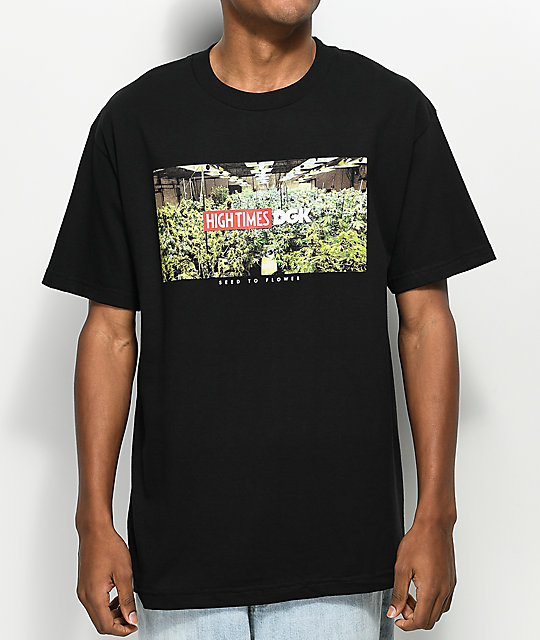 DGK X High Times Grow Room Black T-Shirt