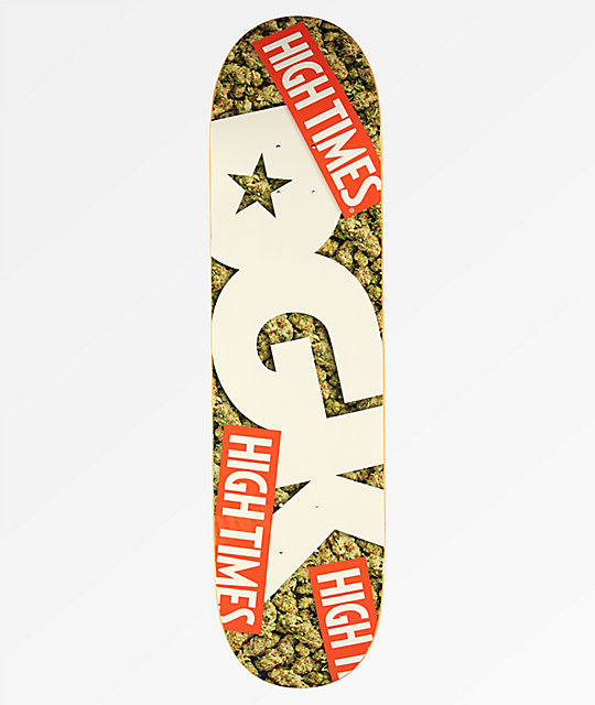 "DGK x High Times Nug 8.06"" Skateboard Deck"