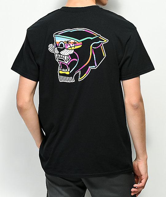 DROPOUT CLUB INTL. J. Cassina Panther Black T-Shirt