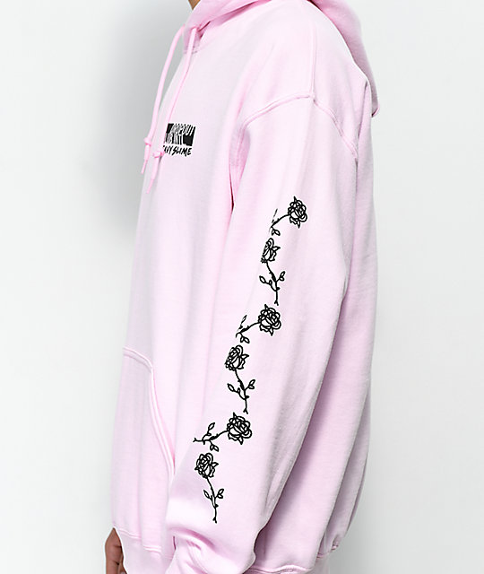 DROPOUT CLUB INTL. X Heavyslime My God Pink Hoodie