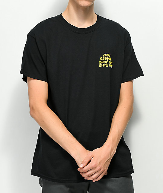 DROPOUT CLUB INTL. x Joey Cassina Beware Black T-Shirt