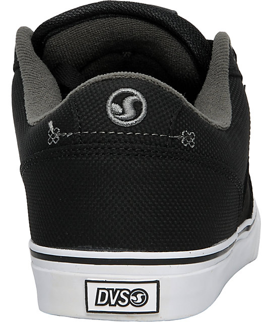 DVS Carson Black Suede Shoes