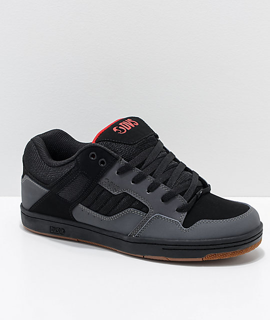 58237579ff7c9 DVS Enduro 125 Grey   Black Nubuck Skate Shoes