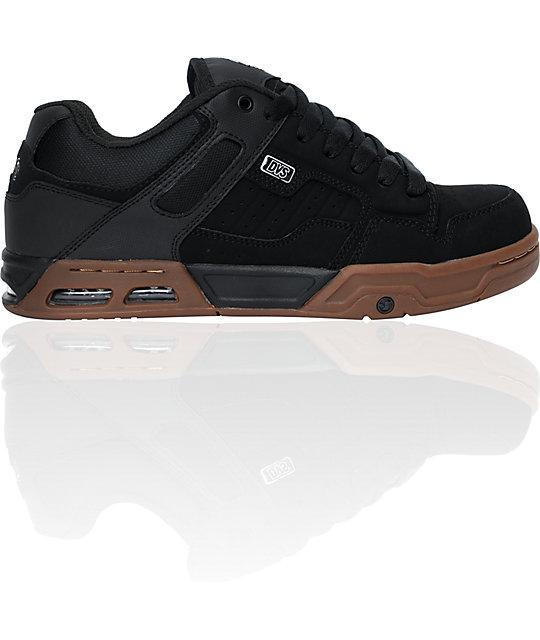 DVS Enduro Heir Black & Gum Skate Shoes | Zumiez