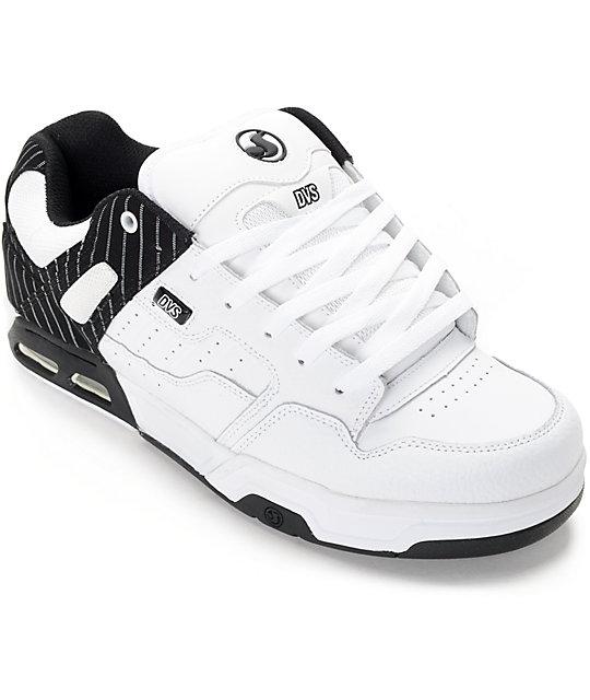 DVS Enduro Heir White & Black Skate Shoes