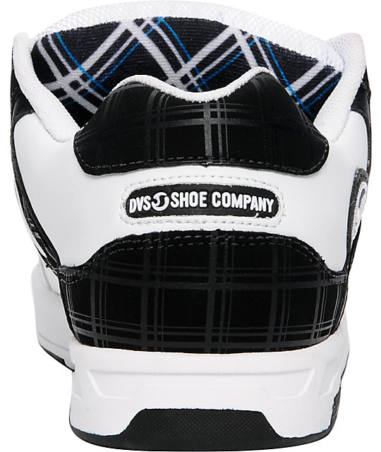 DVS Enduro White Plaid Shoes