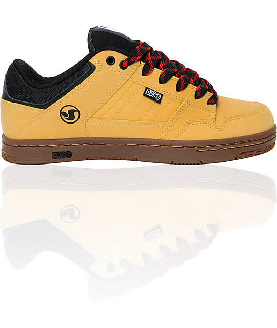 DVS Ignition Tan Skate Shoes