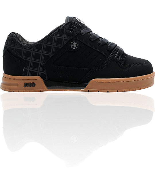 DVS Militia Black & Gum Skate Shoes
